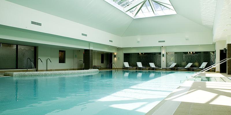 Rookery Hall spa pool