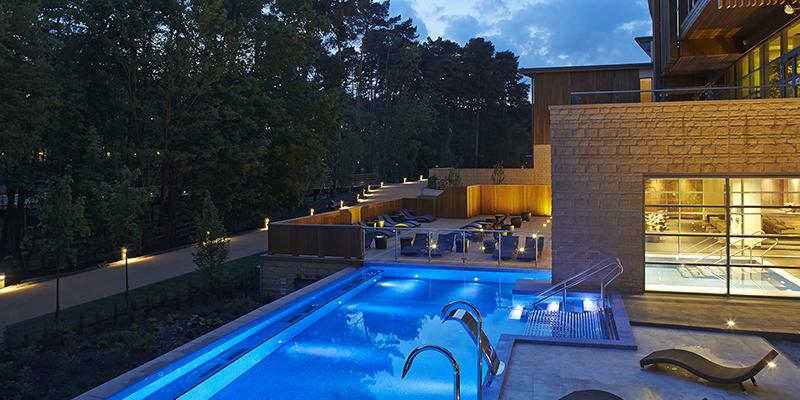 Aqua Sana Woburn Forest outdoor pool