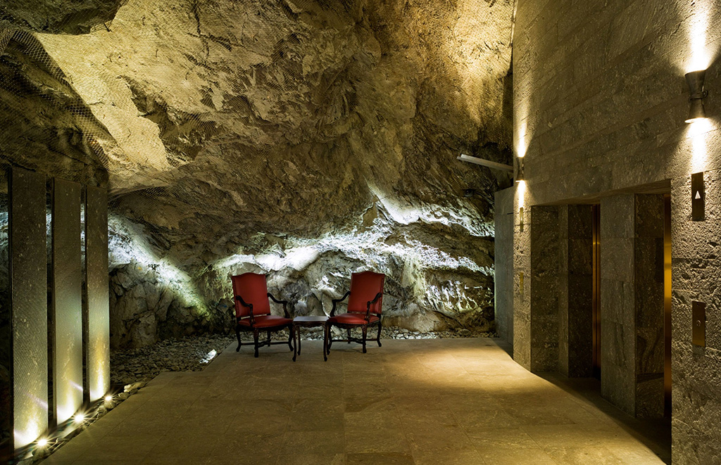 The Grotte at Badrutts Palace