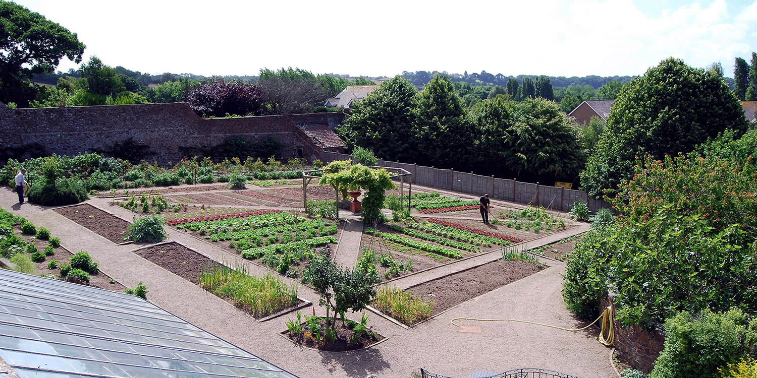 Kitchen Garden at Longueville Manor