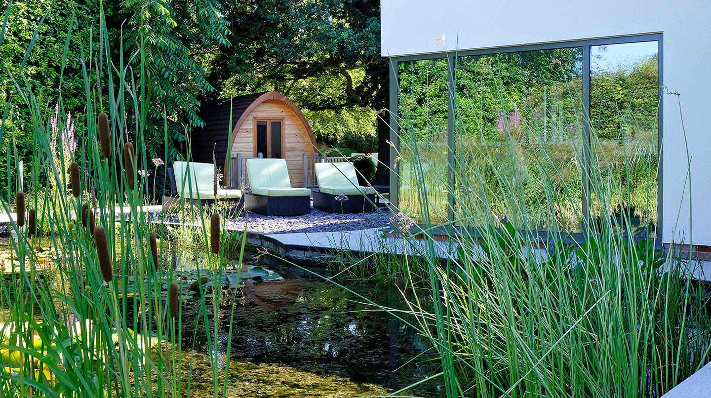 Imagine Spa Blofield Heath Outdoor area