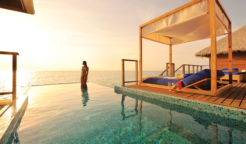 Villa Pool at Coco Bodu Hithi