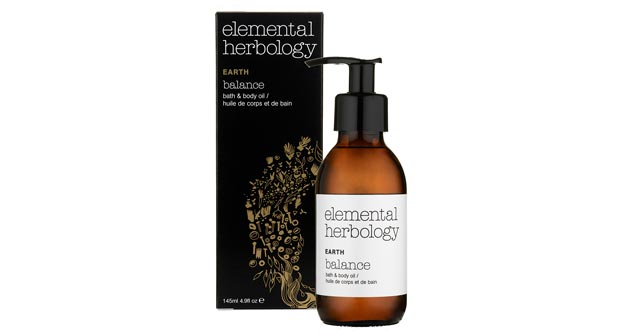 Elemental Herbology Earth Balance Bath and Body Oil