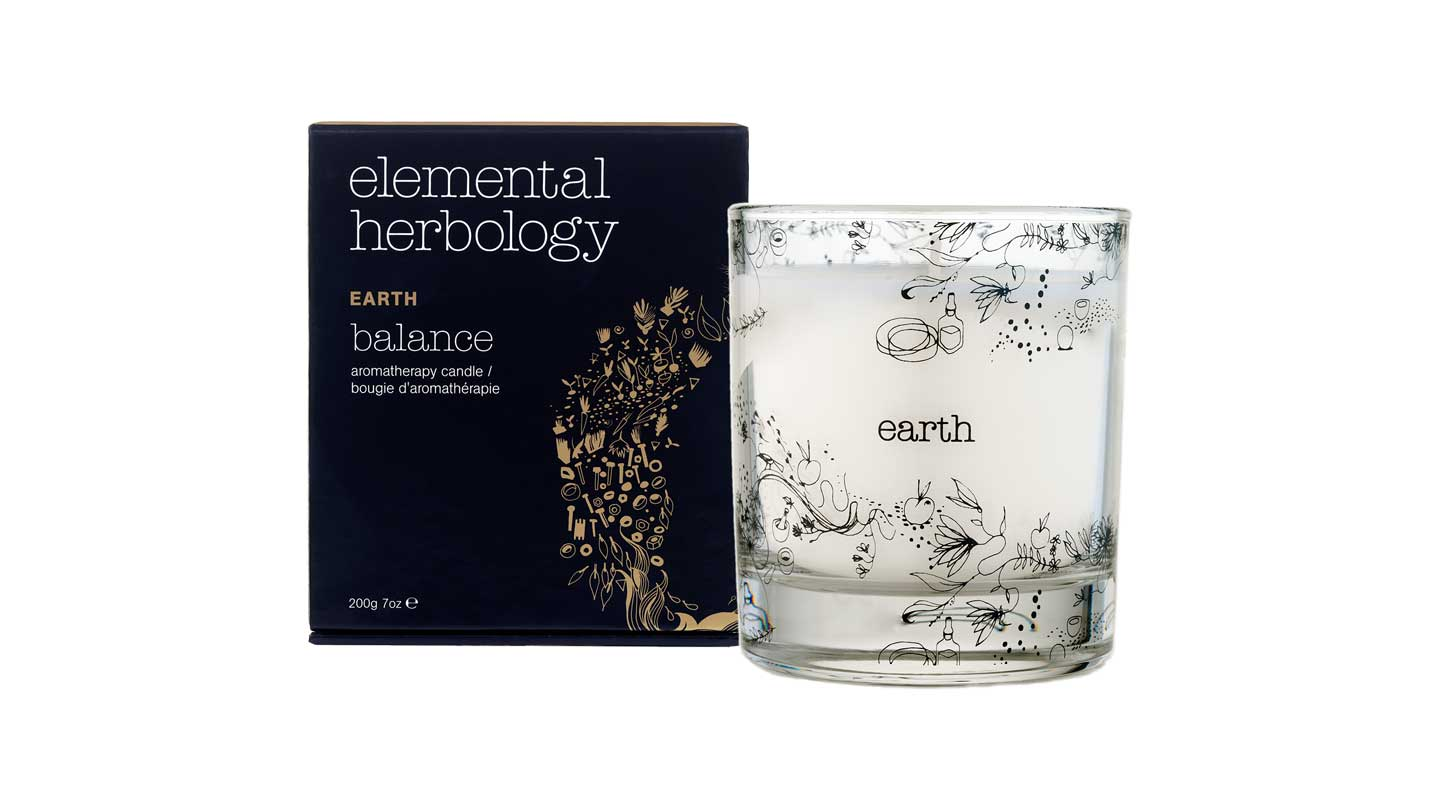 Elemental Herbology Earth Balance Candle