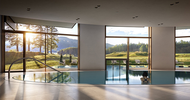 lanserhof lans indoor pool