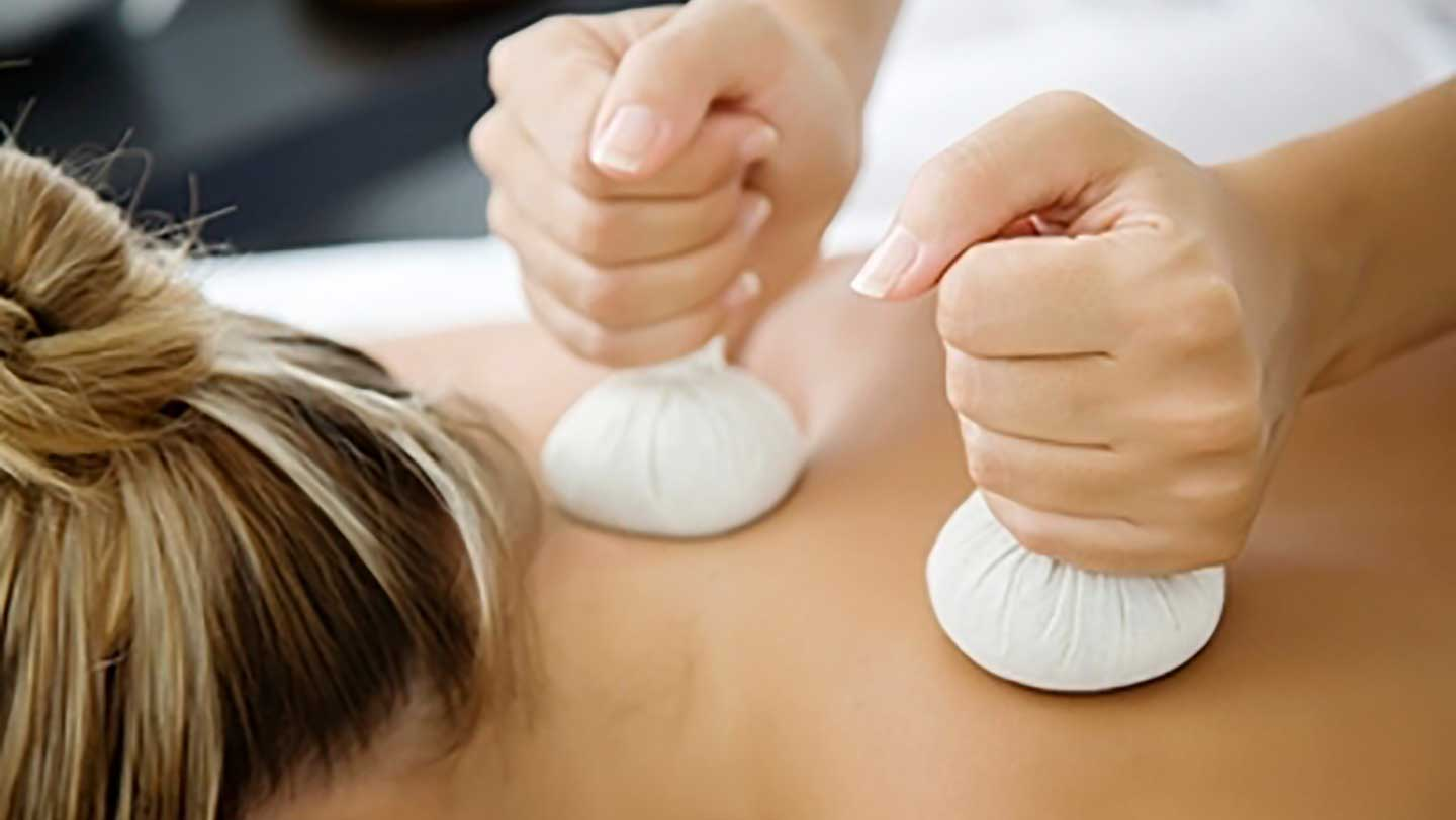 Herbal Poultices massage