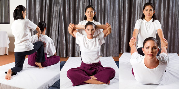 Thai massage techniques