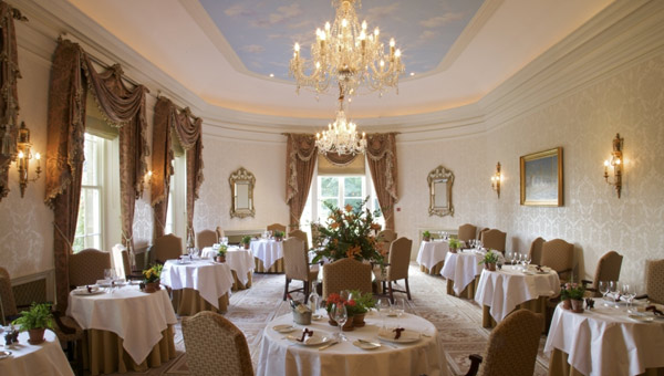 The Park restaurant at Lucknam Park