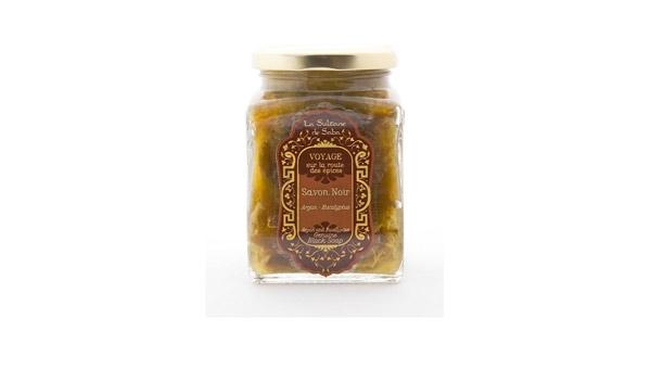 La Sultane de Saba Authentic Eucalyptus Black Soap