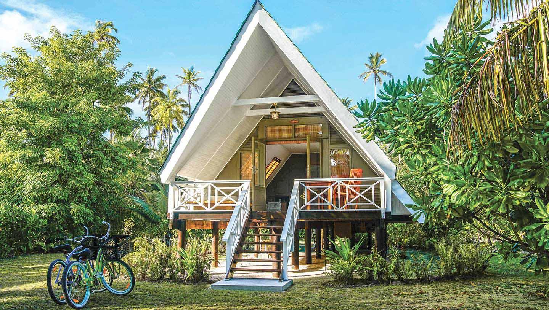 Alphonse Island - Accomodation
