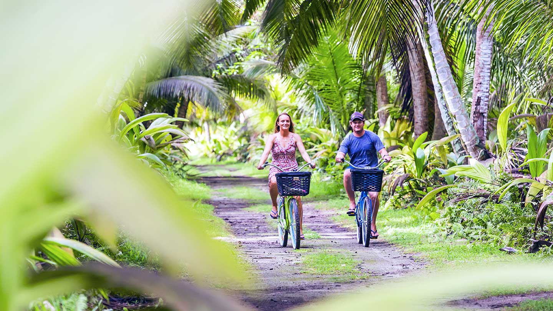 Alphonse Island - cycling