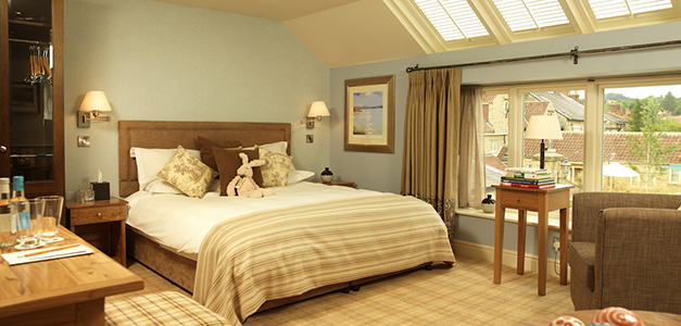The rooms at The Feversham Arms