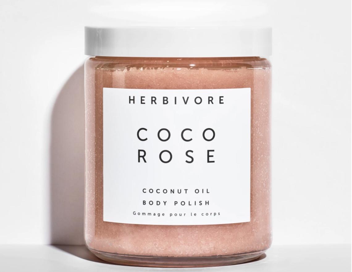 Herbivore Botanicals Coco Rose Exfoliating Body Scrub
