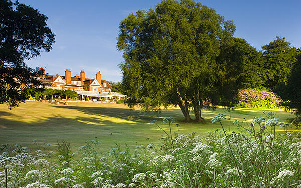 Chewton Glen grounds