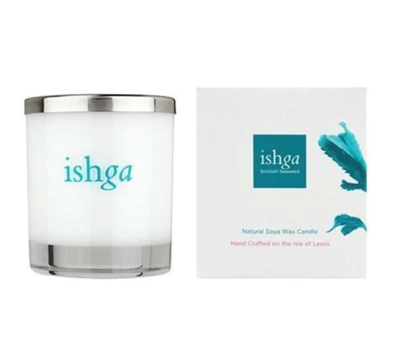 ishga Hebridean Dreams Hand Poured Seaweed Candle