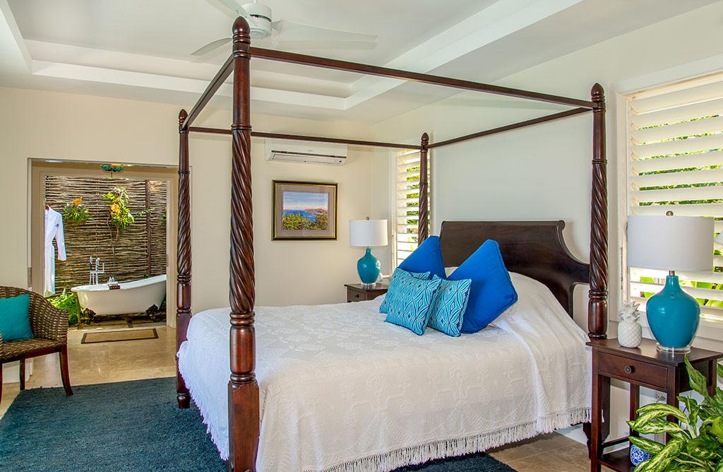 Jamaica Inn cottage bedroom