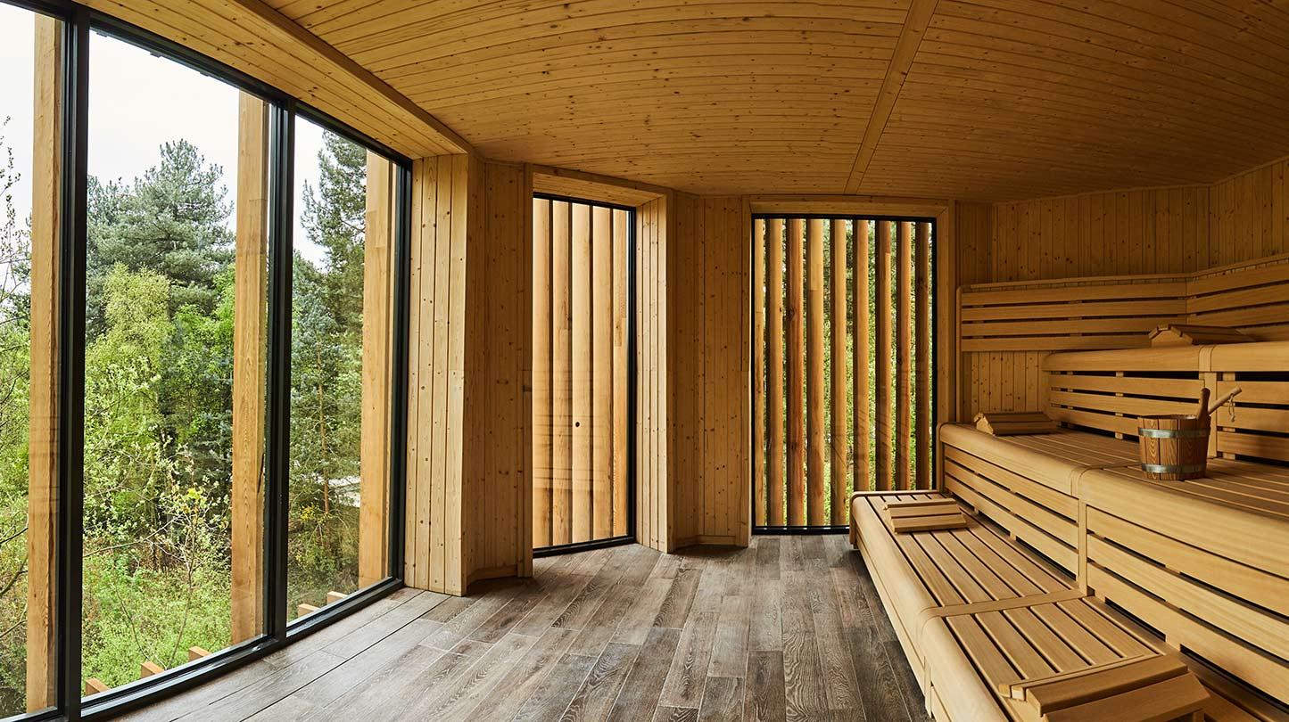 Aqua Sana Sherwood Forest Treetop Sauna