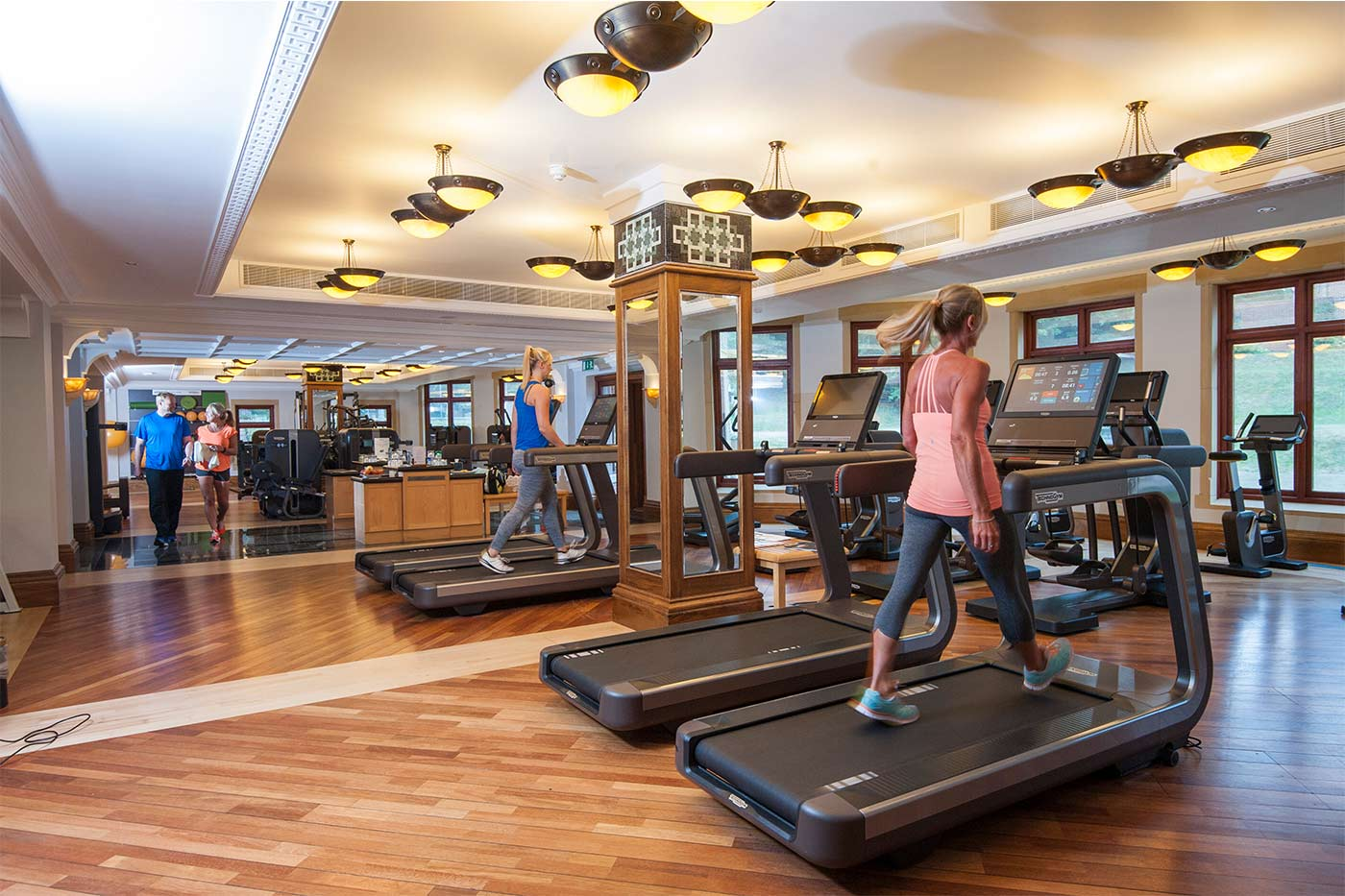 Pennyhill Park gym