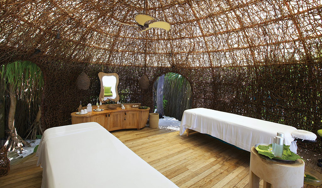 Treatment Cocoon at Six Sense Laamu