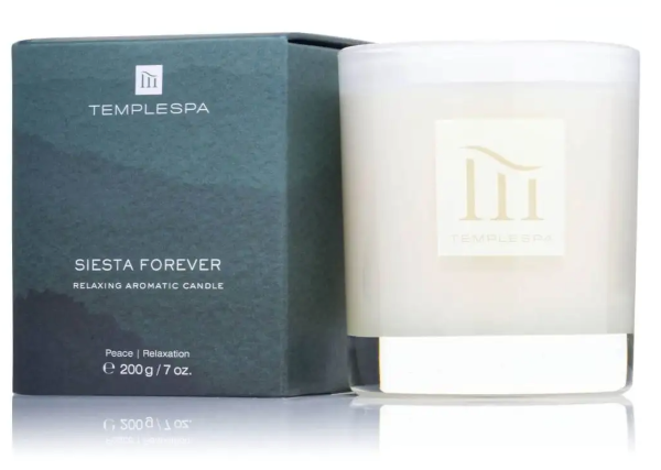 Temple Spa Siesta Forever Candle