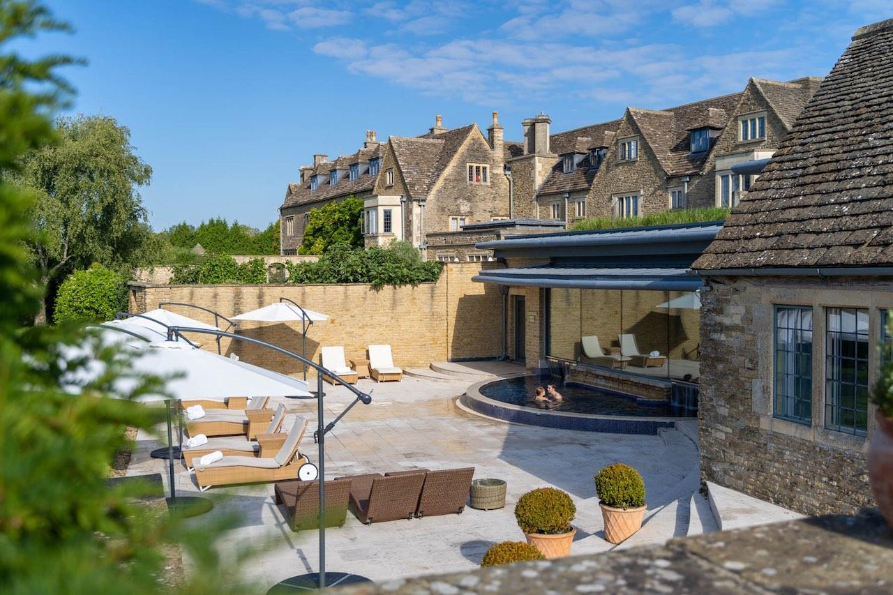 Whatley Manor Spa Terrace