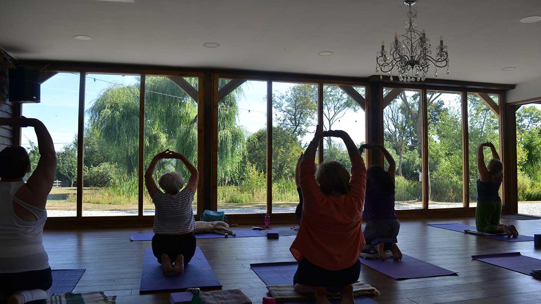 Yoga-with-Views-across-Pond