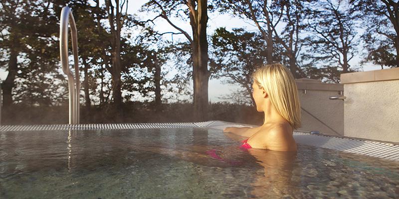 Ribby Hall outdoor pool