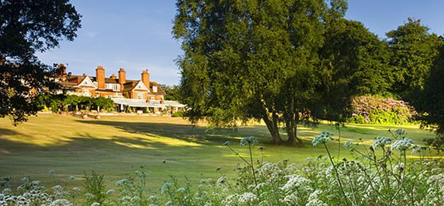 Chewton Glen lawn