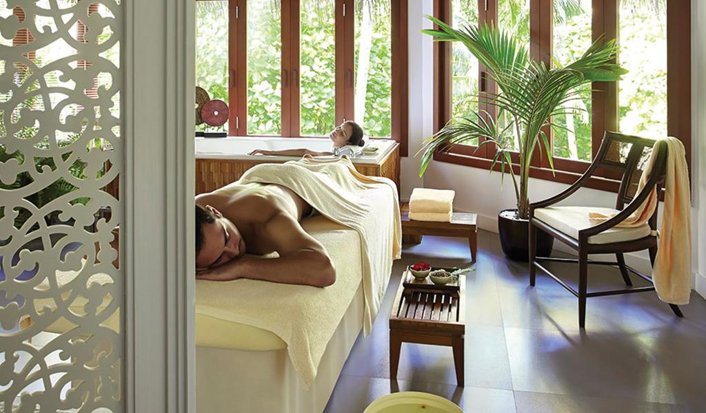 Treatment Rooms at the Deverana spa At Dusit Thani Maldives