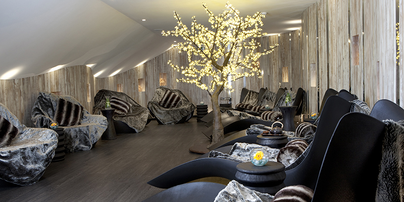 Headland Spa relaxation room