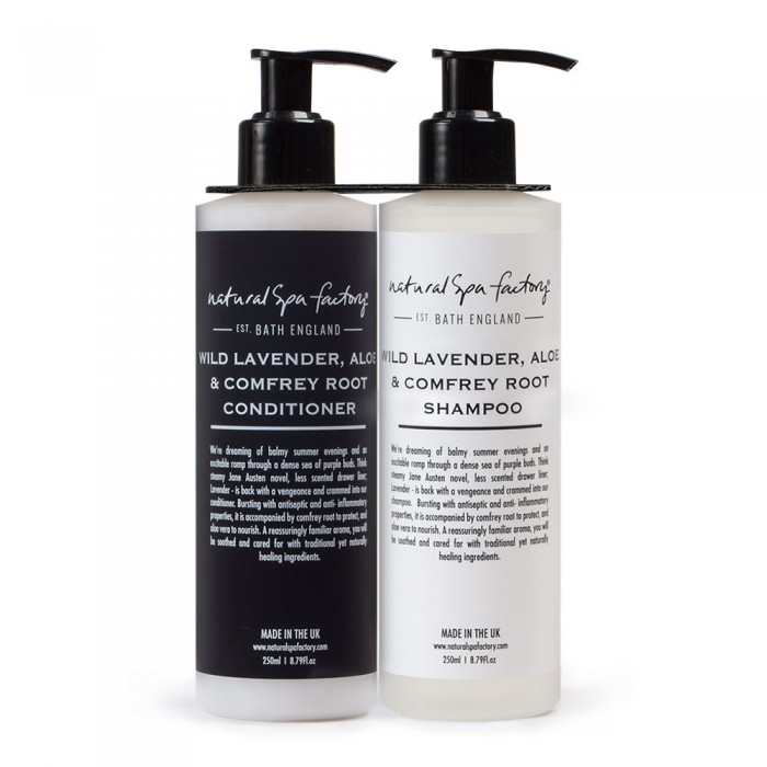 natural spa factory shampoo and conditioner