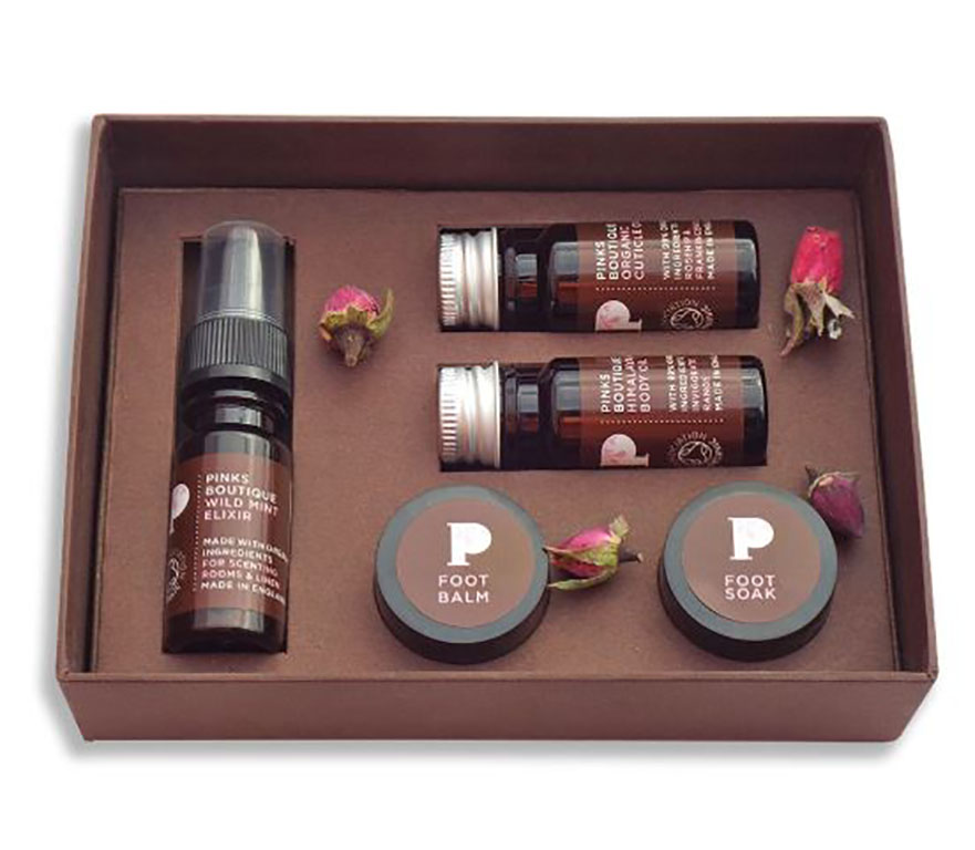 pinks boutique pedicure set