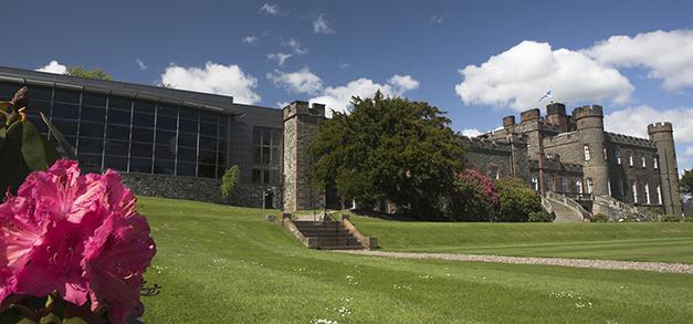 Stobo Castle exterior