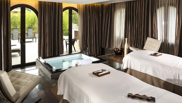 The VIP double suites at Terre Blanche
